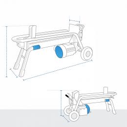 Custom Log Splitter Covers - Electric Log Splitter