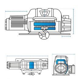 Custom Winch Covers - Design 1