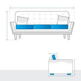 Straight Sofa Covers
