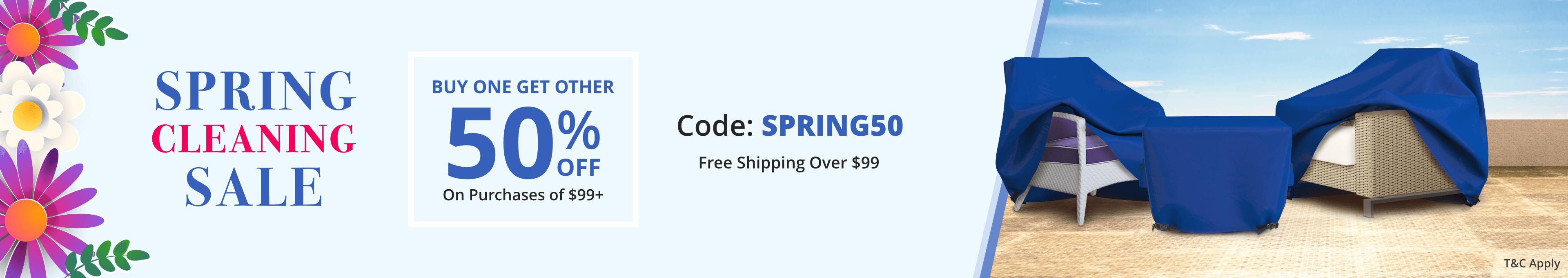 Spring Cleanup Sale